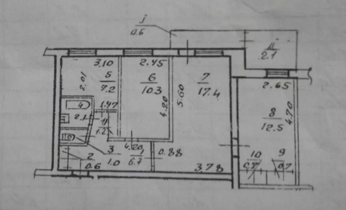 продам 3-комнатную квартиру Днепр, ул.Суворова , 34а - Фото 5