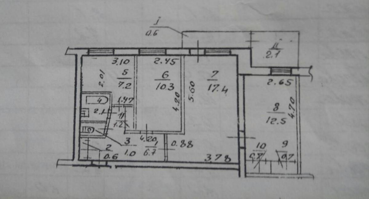 продам 3-комнатную квартиру Днепр, ул.Суворова , 34 - Фото 5